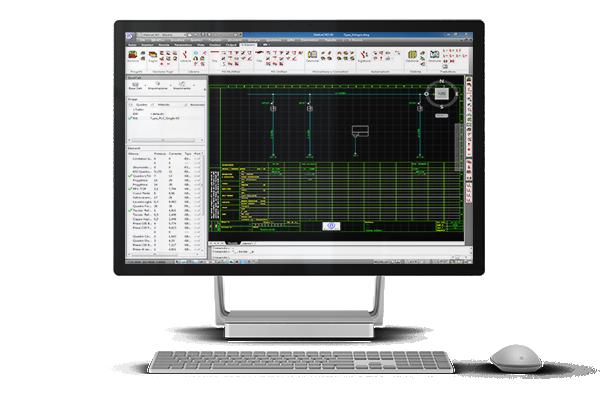 Schemi Elettrici Unifilari E Multifilari : Video tutorial software per progettazione elettrica
